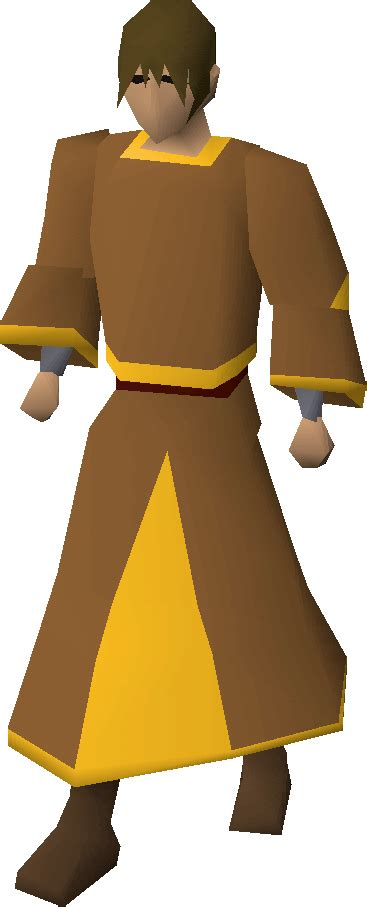 Gold-trimmed monk's robes - OSRS Wiki