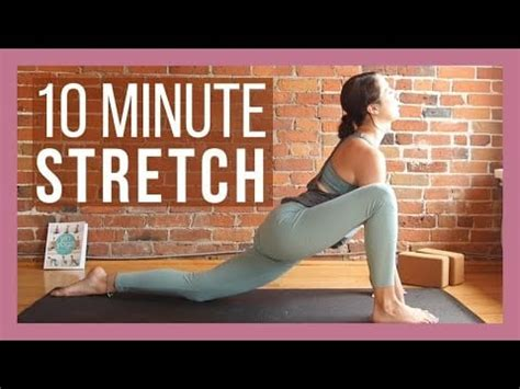 10-Minute Morning Yoga Full-Body Stretch With Yoga With