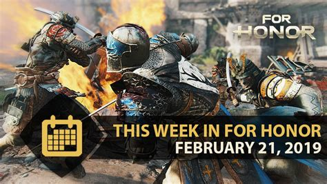 This Week in For Honor - February 21st 2019 | Ubisoft (US)