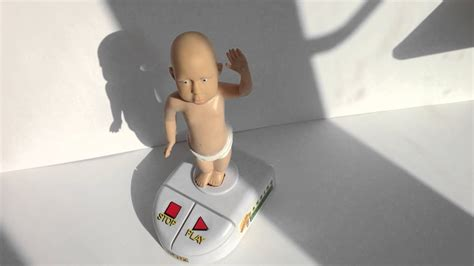Kinetix Alley McBeal Dancing Baby Action Toy - YouTube