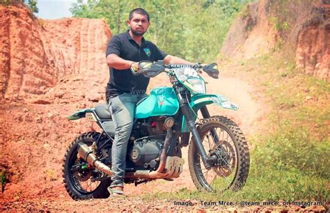 Royal Enfield Himalayan rally-spec from Team Mrce