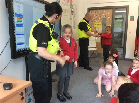 A Visit from the Police – Front Street Primary School