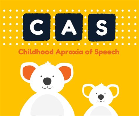 Childhood Apraxia of Speech Resource Page - Speech And