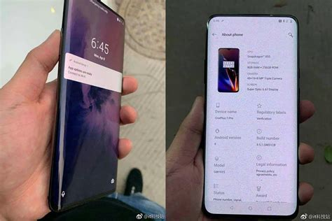 OnePlus 7 Pro model tipped for May release with a 5G