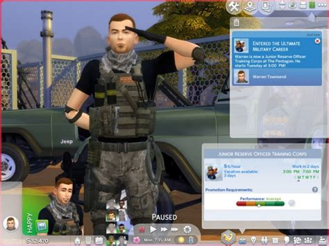 Mod The Sims: Ultimate Military Career by asiashamecca