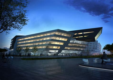 Library and Learning Center in Vienna, Austria by Zaha Hadid