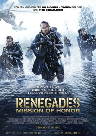 Renegades – Mission of Honor   Cooles Heist-Movie