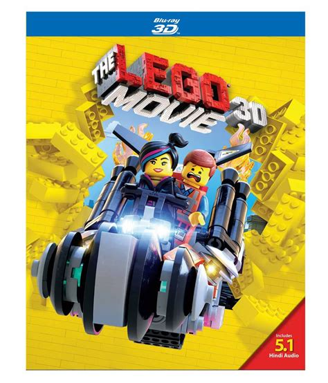The Lego Movie (English) [Blu-ray 3D]: Buy Online at Best