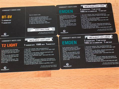 EU invite codes for WoT and WoWs + BT-SV bonus code (only