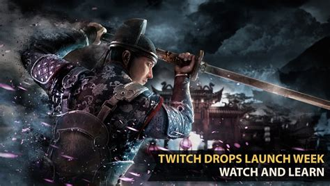 Twitch Drops Activated for Every For Honor Streamer