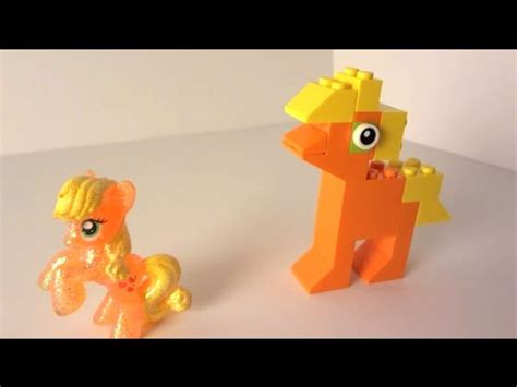 Creating a MLP My Little Pony Applejack in Lego Classic