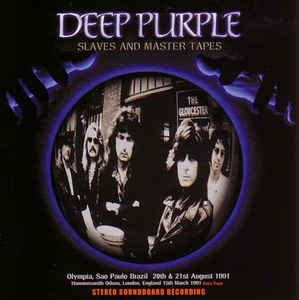 Deep Purple - Slaves And Master Tapes (CD, Unofficial