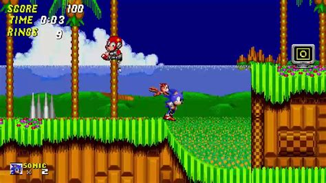 So I remade a level from sonic 2 in game maker studio 2