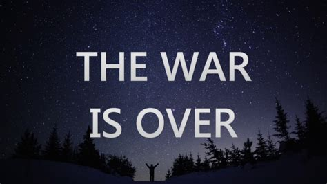 THE WAR IS OVER - Bethel Music