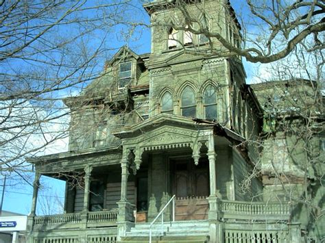 Old house in Palatine Bridge, NY--Webster Wagner House