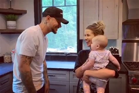 Kane Brown Sings Unreleased Song to His Wife and Baby Girl