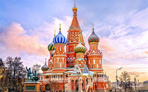Download wallpapers Saint Basils Cathedral, Cathedral of