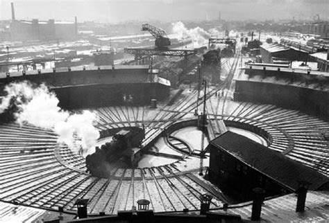 Industrial History: Twin Turntable Roundhouses