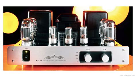 Tube Amp Company 88 - Manual - Stereo Integrated Amplifier
