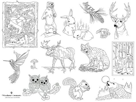 Woodland Creatures Embroidery Pattern | Sew Lovely