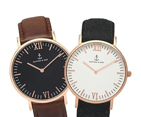 montre homme kapten and son