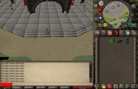 99 fletching g maul pure with beaver pet! - OSRS - powerbot