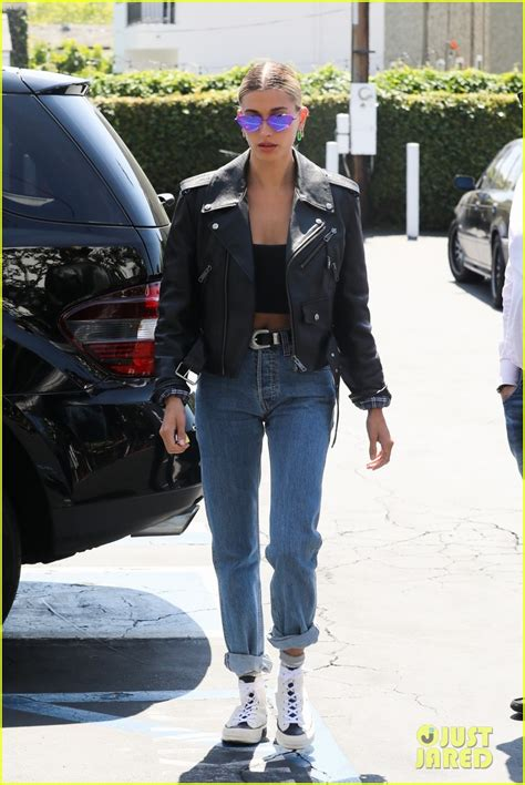 Hailey Bieber & Kendall Jenner Show Off Their Style After