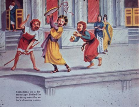 Comedy on a Roman Stage | Hekman Digital Archive