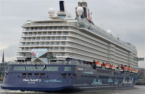 Mein Schiff 3 Itinerary, Current Position, Ship Review