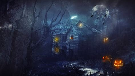 10 High Definition Halloween Wallpapers That Will Send A